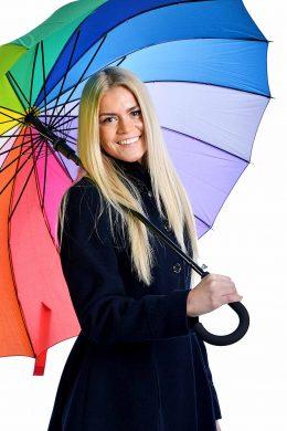 """Lielais lietussargs """"Varavīksne"""""""