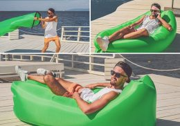 Gaisa pufs, sauļošanās matracis AIR SOFA LAZY BAG