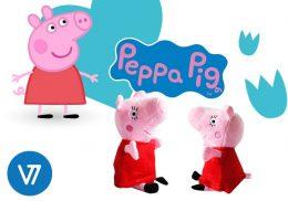 Cūciņa PEPPA - dziedoša mīkstā rotaļlieta