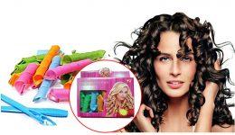 Magic Leverage elastīgie matu ruļļi