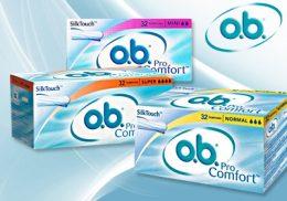 o.b. ProComfort higiēniskie tamponi 32gb