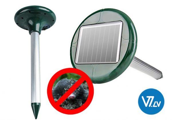 elektriskā ierīce efektīvai grauzēju un kurmju atbaidīšanai