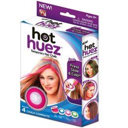 """""""Hot Huez"""" 4 krāsu krītiņi matu tonēšanai"""