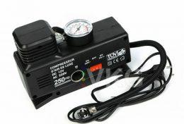 Elektriskais auto kompresors 12V ar manometru