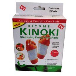 KINOKI Detox - speciāls plāksteris toksīnu izvadīšanai no organisma