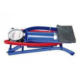 Kājas pumpis ar manometru - 1 cilindrs