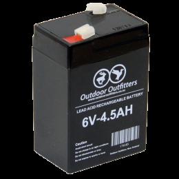 Akumulators 6V - 4.5AH - atkārtoti lādējams