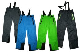 JUSTPLAY slēpošanas bikses bērniem - Modelis 2 - dažādas krāsas
