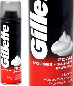 Gillette Regular Foam - skūšanās putas - 200 ml.