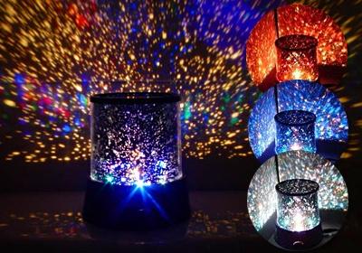 """StarMaster"" zvaigžņu projektors ar LED diodēm"