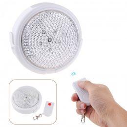 Pielīmējama bezvadu LED lampiņa ar tālvadības pulti