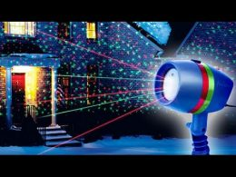 Lāzera projektors STAR SHOWER MOTION