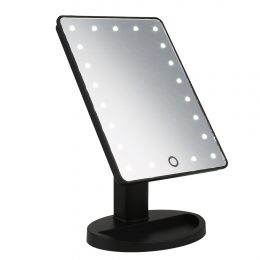 Spogulis ar LED apgaismojumu - 21.5cm x 17cm
