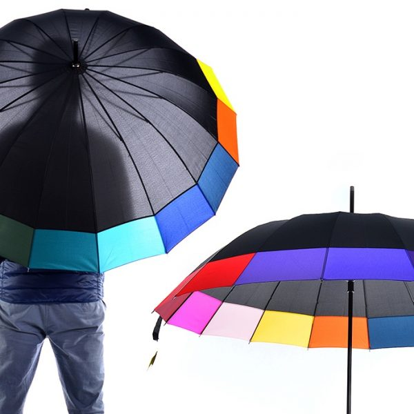 """Lielais lietussargs """"Krāsu karuselis"""""""