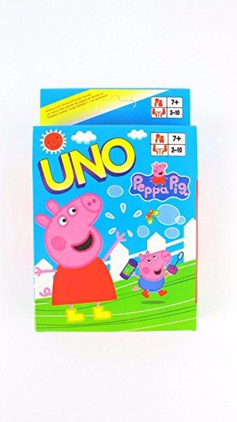 Spēļu kārtis UNO - Peppa Pig