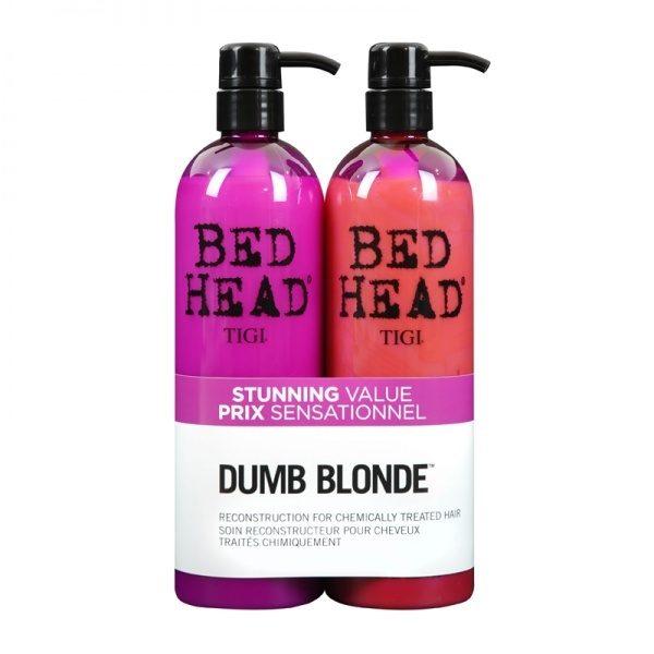 TIGI COLOUR COMBAT DUMB BLONDE šampūns + kondicionieris (2 x 750 ml)