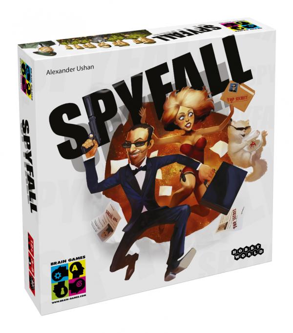 Galda spēle Spyfall