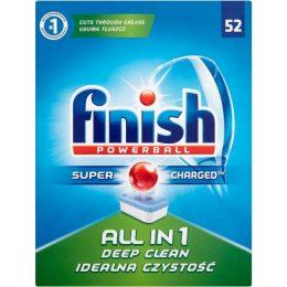 Finish All in One Powerball 52 tabletes - trauku mazgāšanas mašīnai