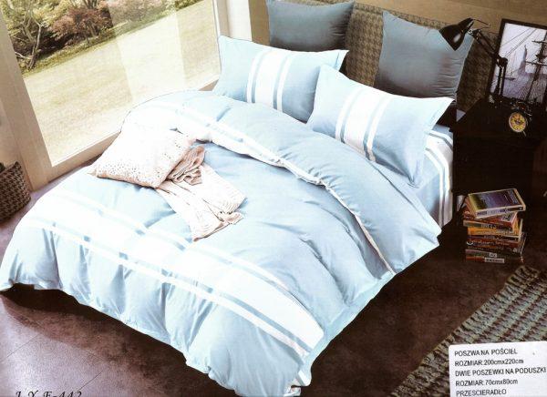 3D gultas veļas komplekts 200cm x 220cm ar palagu - M4