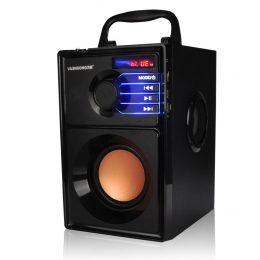 Portatīvais BLUETOOTH skaļrunis / BOOM BOX ar iebūvētu FM uztvērēju - A10
