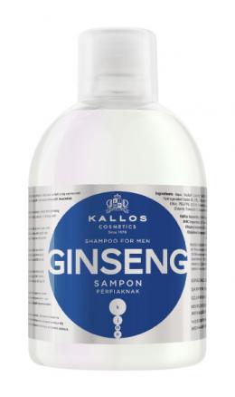 KALLOS Cosmetics - šampūns vīriešiem - GINSEGN (1000ml)