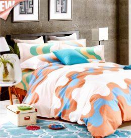 3-daļīgs gultas veļas komplekts no luksusa klases kokvilnas - 200 x 220 cm