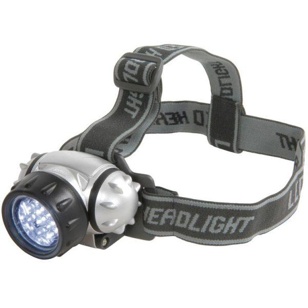 LED galvas lukturis ar 2 režīmiem