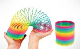 Rainbow Spring - Rotaļlieta bērniem varavīksne - Maģiskā Spirāle 6 x 7 cm