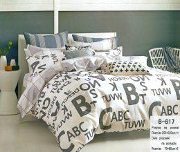 3-daļīgs gultas veļas komplekts no luksusa klases kokvilnas - 200 x 220 cm - M22