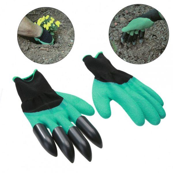 """Dārzniecības cimdi ar ABS plastmasas """"nagiem"""""""