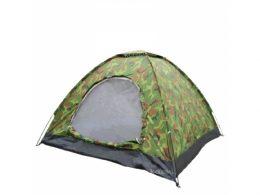 2-vietīga pārgajienu telts ar alumīnija lokiem