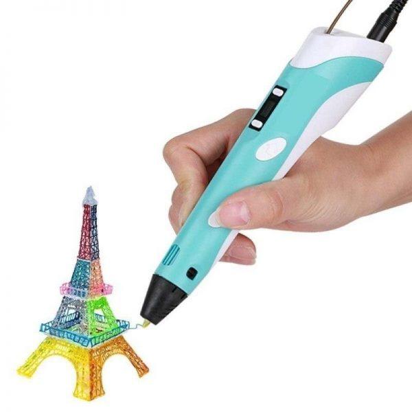 3D pildspalva / zīmulis 1.75mm ABS un PLA plastikātam