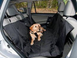Aizmugurējā sēdekļa pārklājs dzīvnieku transportēšanai