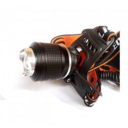 CREE T6 LED galvas lukturis ar 3 režīmiem