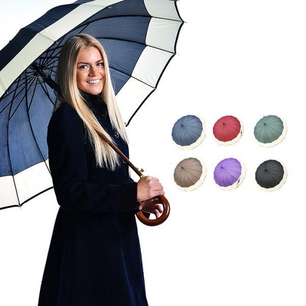 """Lielais lietussargs """"R&B"""" - 5 krāsu variācijas"""