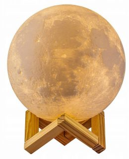 3D Moon light / Lampa mēnessgaisma 8 cm
