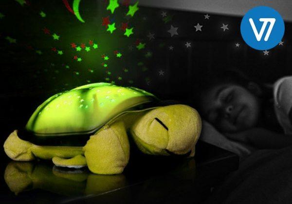 Zvaigžņu projektors - nakts lampa Bruņurupucis - M2