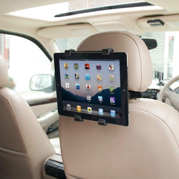 Planšetes auto turētājs - stiprināms pie auto sēdekļa galvas balsta