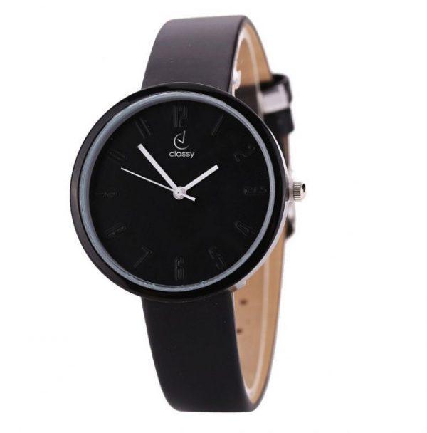 Sieviešu rokas pulkstenis - CLASSY BLACK Z618