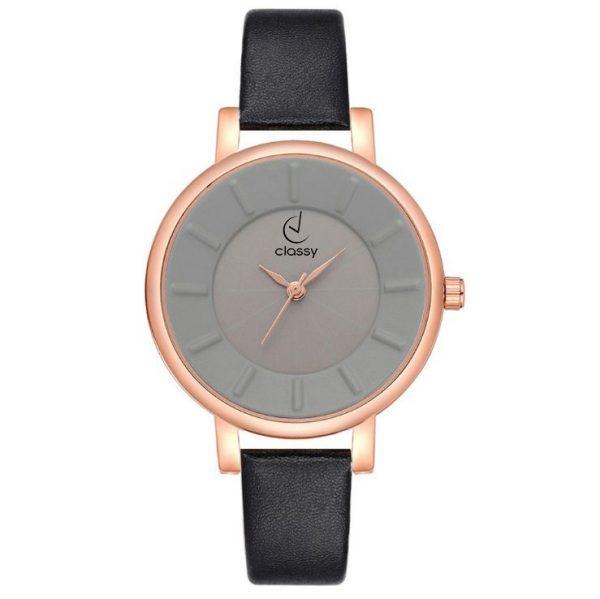 Sieviešu rokas pulkstenis - CLASSY ELEGANT BLACK Z595CZ