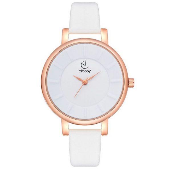Sieviešu rokas pulkstenis - CLASSY ELEGANT WHITE Z595CZ