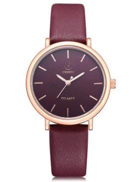 Sieviešu rokas pulkstenis - CLASSY BORDO Z643