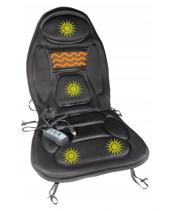 Auto sēdekļa apsilde ar masāžas funkciju - 12 V