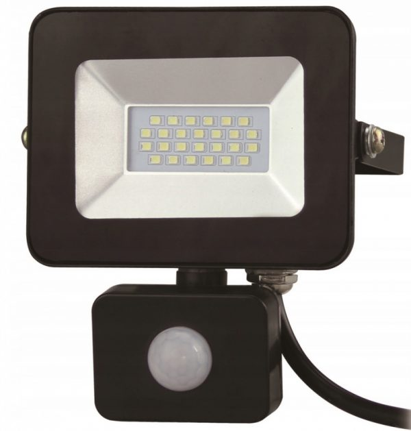 SMD LED prožektors 10W ar kustības sensoru