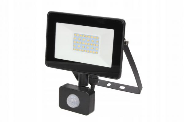 SMD LED prožektors 20W ar kustības sensoru