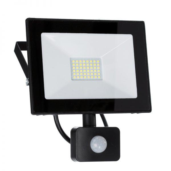 SMD LED prožektors 30W ar kustības sensoru
