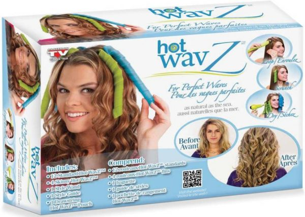 Hair WavZ - elastīgo matu ruļļu komplekts