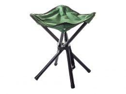 Saliekams metāla krēsls tūrismam, piknikam