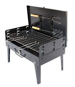 Saliekams tērauda grills BBQ 39 x 30.5 cm
