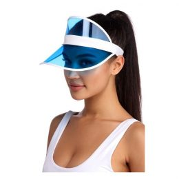 Saules cepure ar nagu zila - Tennis CAP CZ10